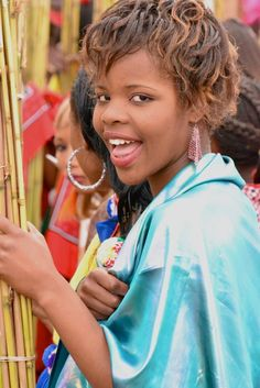 Zulu girls attend umhlanga the annual reed dance festival of reed dance swaziland ccuart Image collections