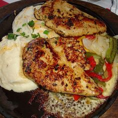 T.G.I Fridays Sizzling Chicken and Cheese Secret Recipe