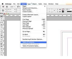 Indesign cs6 indexing tutorial on how to create an index for how to create a table of contents in indesign fandeluxe Images