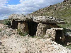 Parque megalítico de Gorafe. Granada.