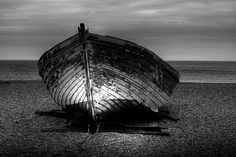 black and white HDR photography | Black and white HDR shot of boat wreck | Flickr - Photo Sharing!