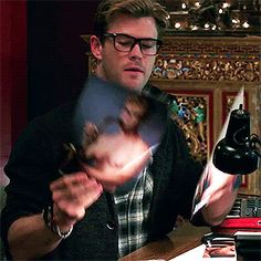 Chris Hemsworth as Kevin in Ghostbusters