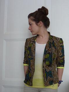 Perfecto en wax par lucie - thread (patron n°115 burda mars 2012)