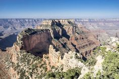 Wotan's Throne, a butte seen from the North Rim of the Grand Canyon