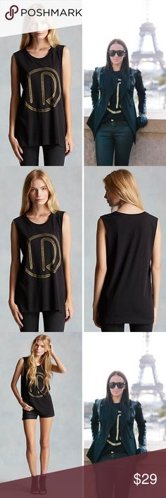 TRUE RELIGION STUDIO 54 BOYFRIEND MUSCLE TEE TANK This boyfriend tee features an updated logo with a true retro vibe. A relaxed fit and super soft fabric complete this effortless look.  100% authentic TRUE RELIGION $69 retail price brand new with original tags! True Religion Tops Tank Tops
