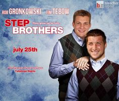 Rob Gronkowski and Tim Tebow parody