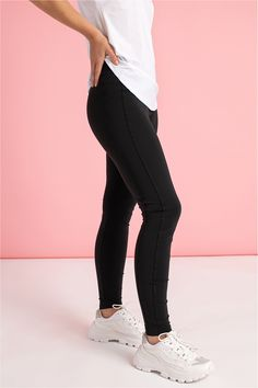 Ellen legging | Leggings | Dameskleding | Studio Anneloes Black Jeans, Skinny Jeans, Leggings, Studio, Pants, Fashion, Fashion Styles, Trouser Pants, Moda