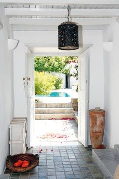 beautiful house greek island interior 13