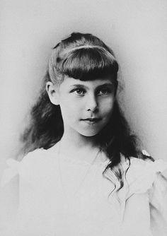 Princesse Victoria-Mélita de Saxe-Cobourg-Gotha (1876-1936) fille d'Alfred duc de Saxe-Cobourg-Gotha et de la grande duchesse Maria Alexandrovna