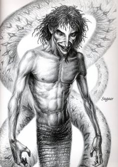 Sugaar- basque myth: a male serpent or dragon like creature that is able to call upon and create storms. He also has an ability to seduce women.
