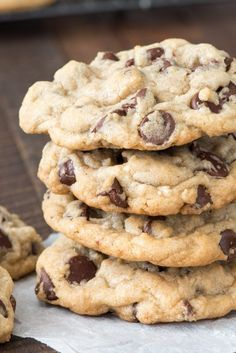 This is the BEST Chocolate Chip Cookie Recipe and the only basic cookie recipe y - Chocolate Chip - Ideas of Chocolate Chip #ChocolateChip -  This is the BEST Chocolate Chip Cookie Recipe and the only basic cookie recipe you need!!