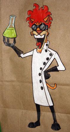Mad Scientist Cat!