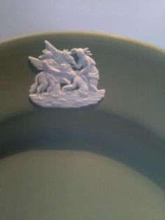 A lovely sage green Wedgwood Jasperware plate measuring inches, 17 centimetres across. A collectors plate and in excellent condition. Wedgwood, My Etsy Shop, Plates, Check, Green, Licence Plates, Dishes, Plate, Dish