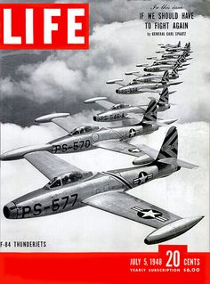F-84 Thunderjets for LIFE Magazine