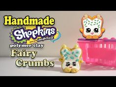 How To Make Shopkins: Fairy Crumbs Polymer Clay Tutorial! - YouTube