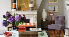 parisian living room color