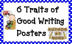 These 6 Traits Posters are bright and beautiful and will definitely catch the eye of your budding writers! Each trait is specifically described and...