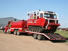 All terrain fire vehicle Fire Equipment, Heavy Equipment, Fire Dept, Fire Department, Cool Trucks, Big Trucks, Ambulance, Wildland Firefighter, Cool Fire