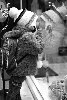 Window shopping on a winter afternoon :)