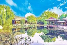 Photos of the Summer Palace edited in everfilter
