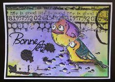 Les crazy birds, les Spectrum noir et les Brusho