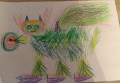 Made by Jade, 6 years old • Art My Kid Made