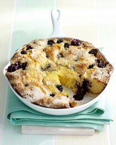 Blackberry Cornmeal Cake