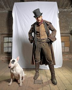 Tom Hardy as Bill Sikes in Oliver Twist (2007)
