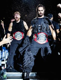 Dean Ambrose and Seth Rollins