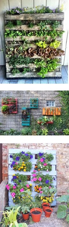 Make a Pallet Garden in 7 Easy Steps. My kids love gardening as one of their responsibilities