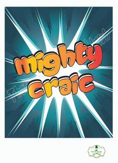 Irish slang 'Mighty Craic' Irish Poster by ThatsSoIrish on Etsy