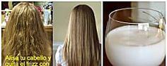 Quita el frizz y alisa tu cabello con leche con este remedio casero