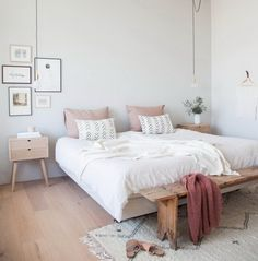 A good minimalist home decoration will make your minimalist feels more comfortable. This decoration is perfect for you who live in a small home or in an apartment. Most of the minimalist home decorati Bedroom Design Trends, Home Decor, Room Inspiration, Minimalist Home Decor, Room Decor, Small Bedroom, Scandinavian Design Bedroom, Bedroom Decor, Minimalist Bedroom Decor