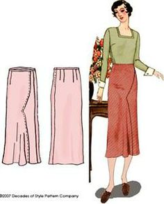 cute vintage pattern from decades of style