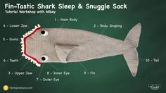 Crochet Shark Snuggle Sack A fabulous free pattern and tutorial for a Shark Blanket called the Crochet Fin-Tastic Shark Snuggle Crochet Shark Blanket, Shark Tail Blanket, Crochet Blankets, Crochet Afghans, Crochet For Boys, Crochet Baby, Free Crochet, Basic Crochet Stitches, Crochet Patterns
