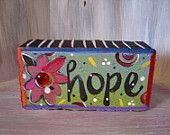 Karma Brick Whimsical Garden Art colorful jeweled by KathyHyatt