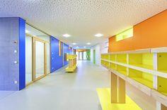 Kindergarten-Ensemble bei Stuttgart / Von der Farbe zur Form - Architektur und Architekten - News / Meldungen / Nachrichten - BauNetz.de
