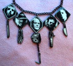 Horror Movie Killers Necklace Michael Myers by MirroredOpposites, $15.00