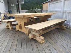 Resultado de imagem para timber frame table