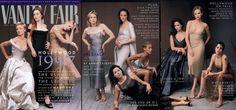 Vanity Fair. 1997 The Hollywood Issue. Cameron Diaz, Kate Winslet, Claire Danes, Renée Zellweger, Minnie Driver, Alison Elliott, Jada Pinkett, Jennifer Lopez, Charlize Theron y Fairuza Balk. Annie Leibovitz