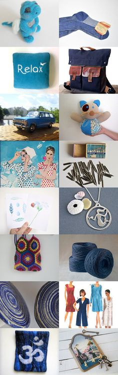 blue relax  by Kristina Sova on Etsy--Pinned with TreasuryPin.com