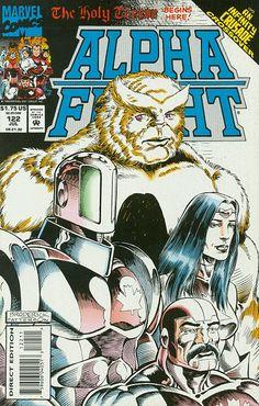 Alpha Flight # 122 by Pat Broderick & Bruce Patterson