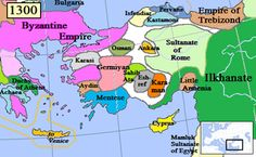 The Turkic peoples entered Anatolia after the Mongols defeated the Seljuks of eastern Anatolia in the middle of the thirteenth century. After a period of turmoil, the Ottomans secured dominance.