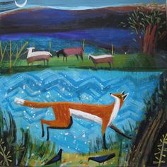 UK ~ Mary Sumner ~ Blue Fox