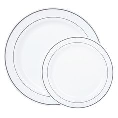 10299 White with Shiny Silver Rim Value Sets