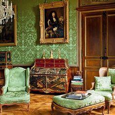 15 Jewel-Tone Interiors Devised by the World's Premier Color-Happy Decorators : Architectural Digest