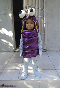 boo from monsters inc homemade halloween costume - Monster Inc Halloween Costumes Boo