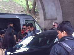 Salman Khan on the set of Kick in Warsaw,Poland | PINKVILLA