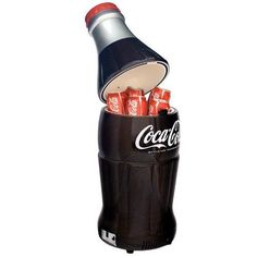 Koolatron BC10-G Coca-Cola 15-Can-Capacity Bottle-Shaped Fridge *** More info could be found at the image url.