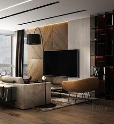 I love this interior design! It's a great idea for home decor. Home design. Living Room Tv, Interior Design Living Room, Living Room Designs, Interior Decorating, Design Room, Cozy Living, Living Area, Muebles Living, Apartment Interior